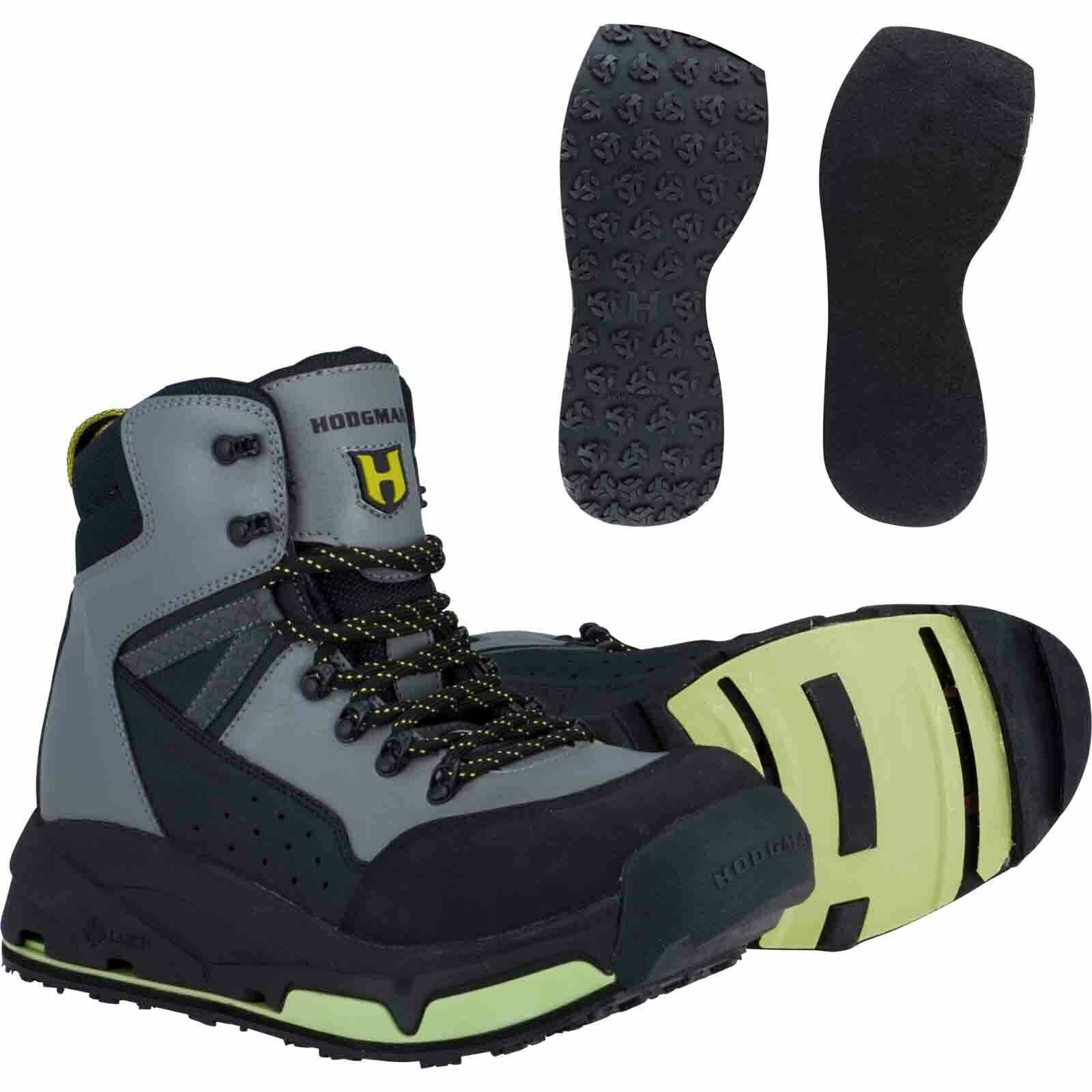 Hodgman H5 H-Lock Interchangeable System With Rubber & Felt Sole Wading Stiefel