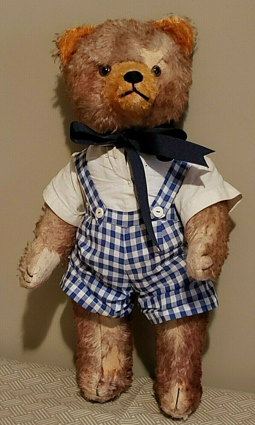 Antique 18  Fully Jointed Teddy Bear
