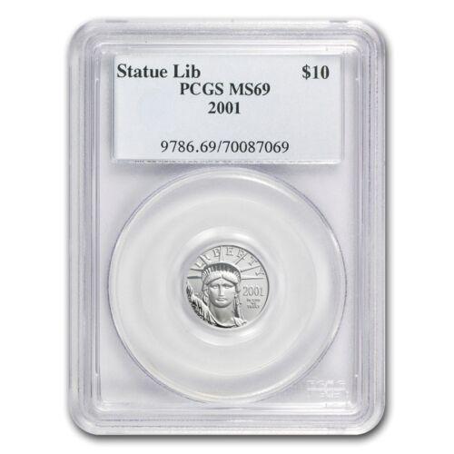 Random Year 1//10 oz Platinum American Eagle MS-69 PCGS SKU #83519