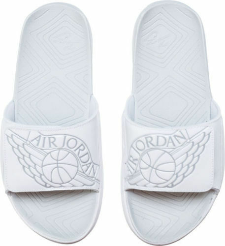 eab47fbbf85d02 Nike Air Jordan Hydro 7 Slide Sz 12 White Pure Platinum Aa2517 100 for sale  online