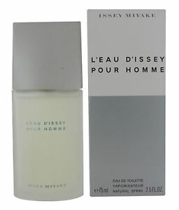Issey-Miyake-L-039-Eau-d-039-Issey-Pour-Homme-75ml-Eau-de-Toilette-Spray-for-Men-New
