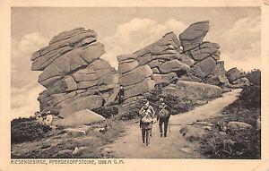 Pferdekopfsteine Genial Riesengebirge Fotopostkarte Attraktive Mode