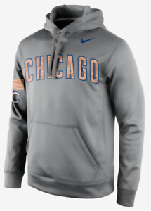 best service a83c4 4a974 Details about Nike Therma Fit Chicago Cubs Salute Service Camo Sweatshirt  hoodie team MLB men