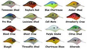 Bill-Lewis-Lures-MR-6-Crankbait-Choice-of-Colors