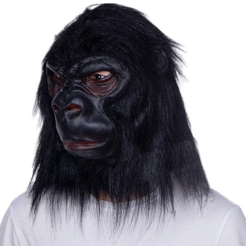 Monkey Halloween Mask Costume party Adult Ape Mask