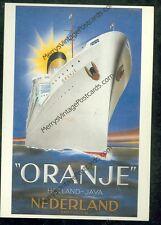 """""""Oranje"""" Holland-Java, Nederland, Amsterdam (SH#1)#661)*12newpostcards"""