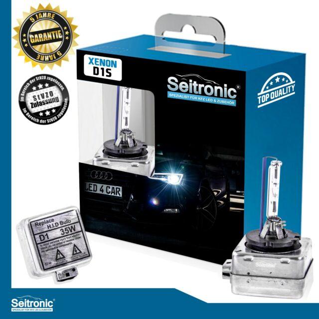 DUO-SET SEITRONIC D3S 6000K STANDARD EDITION Xenon Brenner Scheinwerfer Lampe 1