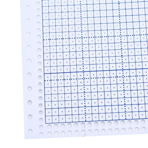10pcs//set vide carte perforée Stitches Pour BROTHER SINGER machine à tricoter MP