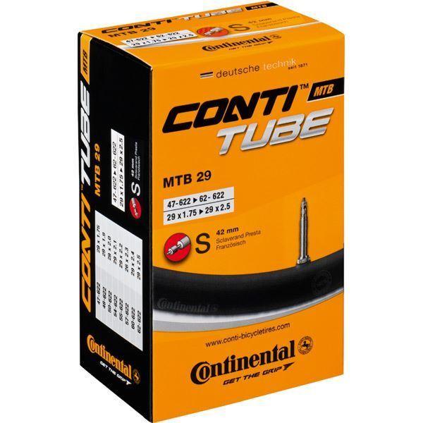 Continental MTB tube 29 x 1.75 - 2.5 inch Schrader valve (for 29er) Inner Tube
