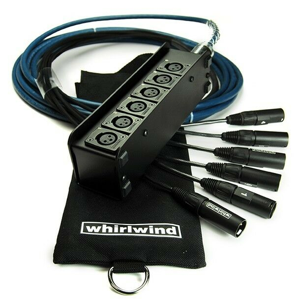 Whirlwind Elite Medusa MINI6 MINI6 MINI6 6 channel Audio Snake 50 ft ME-6-M-NR-050 eb21c1