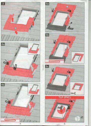 Anschlusspaket Universalset MXT Montagezubehör für Dachfenster Universalset