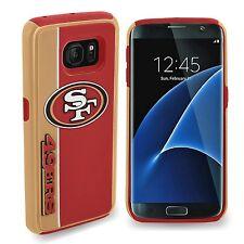 Samsung Galaxy S7 EDGE San Francisco 49ers Bold Dual Hybrid 2 Piece Case