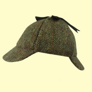 Failsworth-Harris-Tweed-Deerstalker-Hat-Sherlock-Holmes-Hat-Shooting-S-to-XL