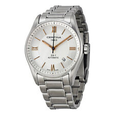 Certina DS 1 Automatic Silver Dial Stainless Steel Mens Watch C006.407.11.038.01