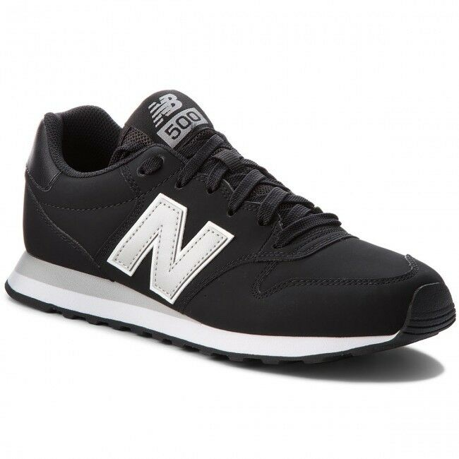 Scarpe sportive uomo New New New Balance GM500BKG Nero-argentoo pelle dfd770