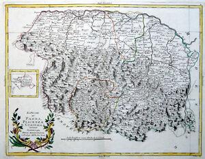 Cartina Topografica Emilia Romagna.Parma Piacenza Guastalla 1783 Zatta Carta Mappa Originale Antica Emilia Romagna Ebay
