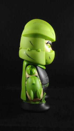 Kidrobot Teenage Mutant Ninja Turtles Green Mutagen Shredder Exclusive 7 in