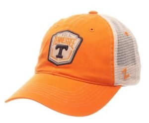 Details about Zephyr Hats Tennessee Vols Knoxville Hat Cap Custom Logo NCAA  College Mesh Back