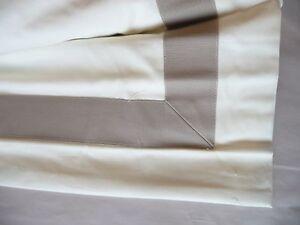 Image Is Loading Pottery Barn Ribbon Roman Shade Taupe 32x64 Cordless