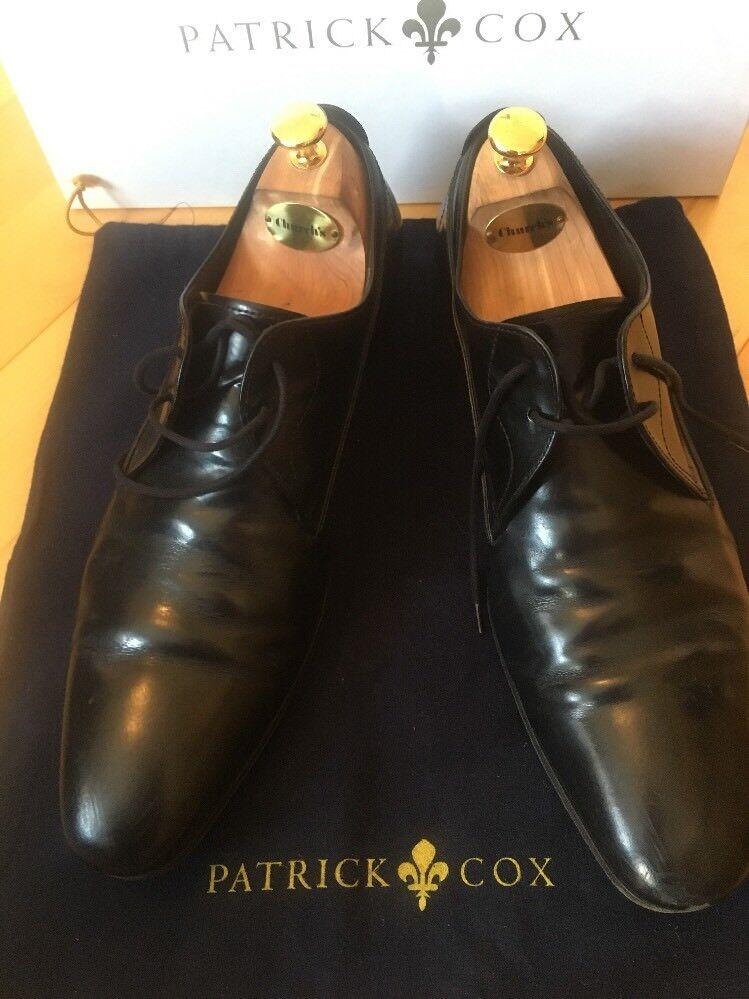 PATRICK COX PRINCIPLE Schuhe PLAIN DERBY Schuhe PRINCIPLE SIZE 10 b8e4a5