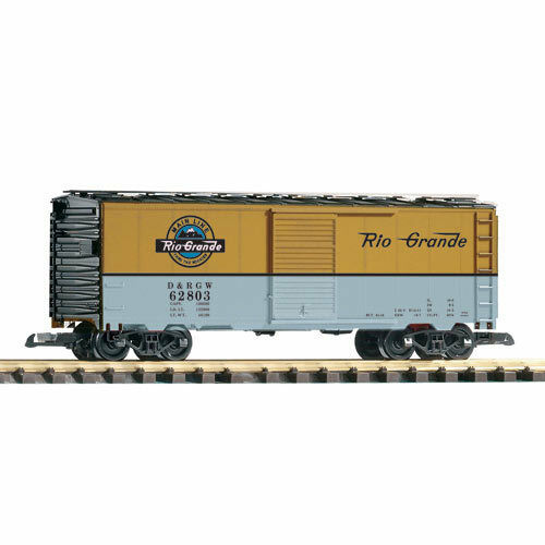 PIKO D&RGW Steel Boxcar 62803 G Gauge 38848