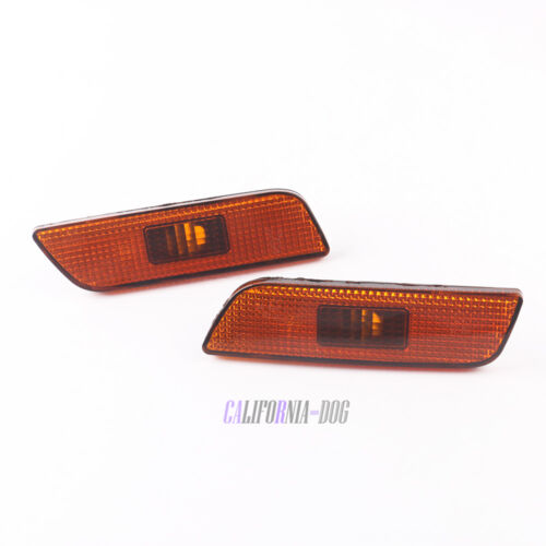 2Pcs Front Left Right Marker Lamp Light Without BULB For Volvo S80 2002-2006