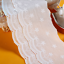 1 Yard Embroidery Trim Floral Cotton Lace Ribbon Wedding Fabric Clothing Sewing