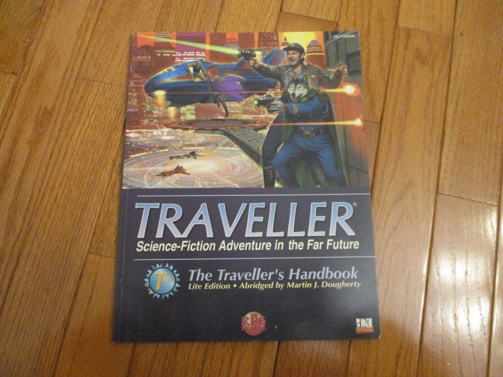 Traveller RPG Far Future The Traveller's Handbook Lite Edition