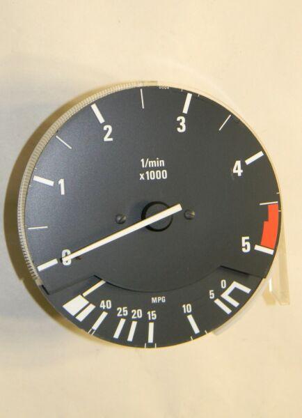 ** Bmw E30 325e Tachimetro Revolution Counter Economia Carburante 5000 Rpm Vdo