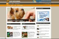 Dog Grooming Affiliate Niche Blog Wordpress Ready Made Website