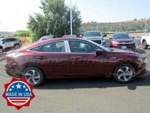 2019-2020-Honda-Insight-4Pc-Chrome-Pillar-Post-Trim-Stainless-Steel-Door-Cover