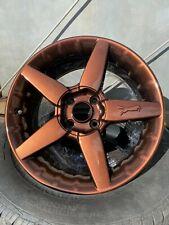 High Gloss Metallic Chrome Copper Powder Coating Fit Tribo 1lb450g
