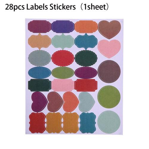Jar Spice Marker Pen Colored Chalkboard Labels Labels Stickers Blackboard Label