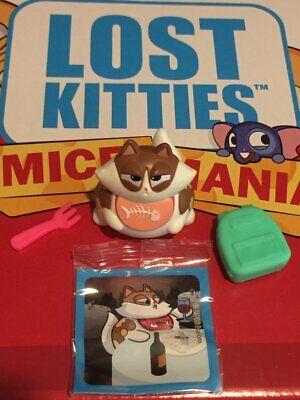 Hasbro perdu Chatons figures série 3-SOURIS Mania ~ #CATTITUDE Sid