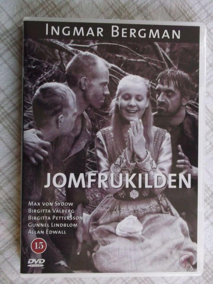 Jomfrukilden, instruktør Ingmar Bergman, DVD