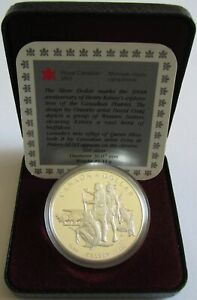 Kanada-1-Dollar-1990-300-Jahre-Kelsey-Expedition-Silber-PP