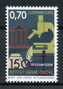 Lussemburgo-2018-Gomma-integra-non-linguellato-Institut-Grand-Ducal-1v-Set-SCIENZA-Architettura