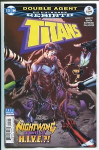 Titans #15 B Cover DC Rebirth NM Comics Book