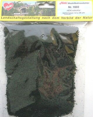 (223,21 €/m²) Heki 1603 Heki Micro Flor Fogliazione Tessuto Non Tessuto Verde Pino 28 X 14 Cm Nuovo-s Kieferngrün 28 X 14 Cm Neu It-it Mostra Il Titolo Originale Garanzia Al 100%