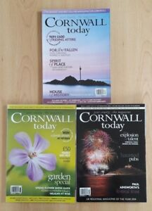 Bundle-of-3-Cornish-Magazines-Cornwall-Today-March-April-amp-Nov-2014-Great