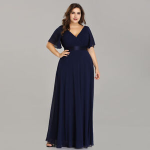 US-Ever-Pretty-Plus-Size-Chiffon-Long-Evening-Dress-Mother-of-Bride-Gowns-09890