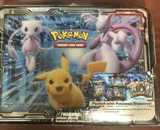 POKEMON 2019 FALL COLLECTOR CHEST TIN Armored Mewtwo Pikachu Charizard Lunch Box