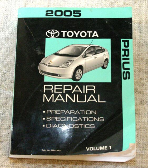 2005 Toyota Prius Manuals