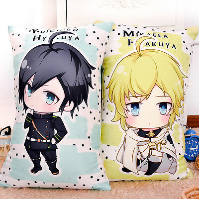Anime Seraph of the End/Owari no Seraph Mikaela Hyakuya Yuichiro Hyakuya Pillow