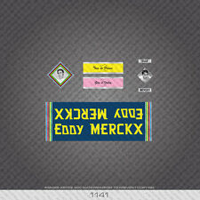 01141 Eddy Merckx Bicycle Stickers - Decals - Transfers