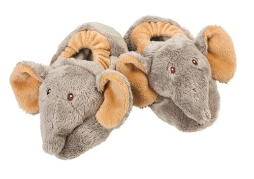 Suki Gifts Baby Jungle Booties Ezzy elephant Mojo monkey and Bing Zooma Zebra