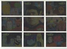 Star Trek  Animated Adventures  JAMES DOOHAN  Chase Cards JD1-JD9  9 CARD SET