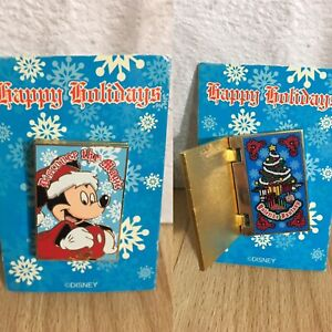RARE-NUMBERED-LE-1500-Disney-Institute-Yuletide-Fantasy-Trading-Pin-Christmas
