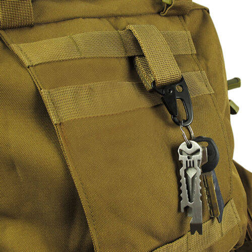 Camping Tactical Carabiner Backpack Hooks Survival Gear EDC Nylon Clasp Outdoor