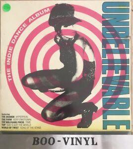 The-Indie-Dance-Album-Unbelievable-Compilation-1991-Lp-Record-VG-Con